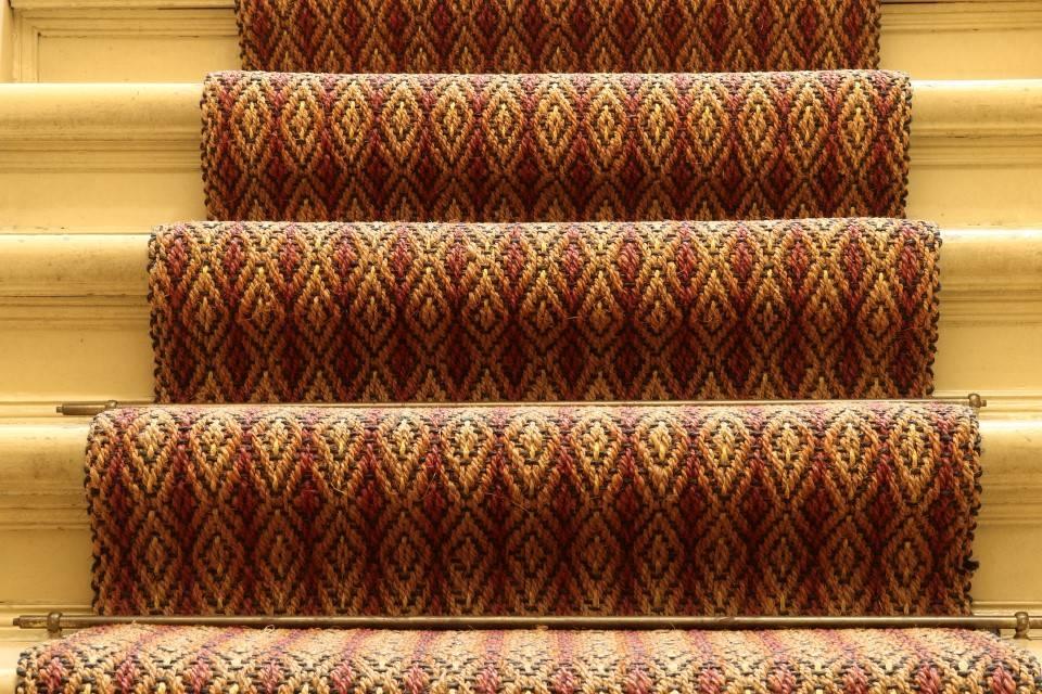 Lufer in einem Treppenhaus