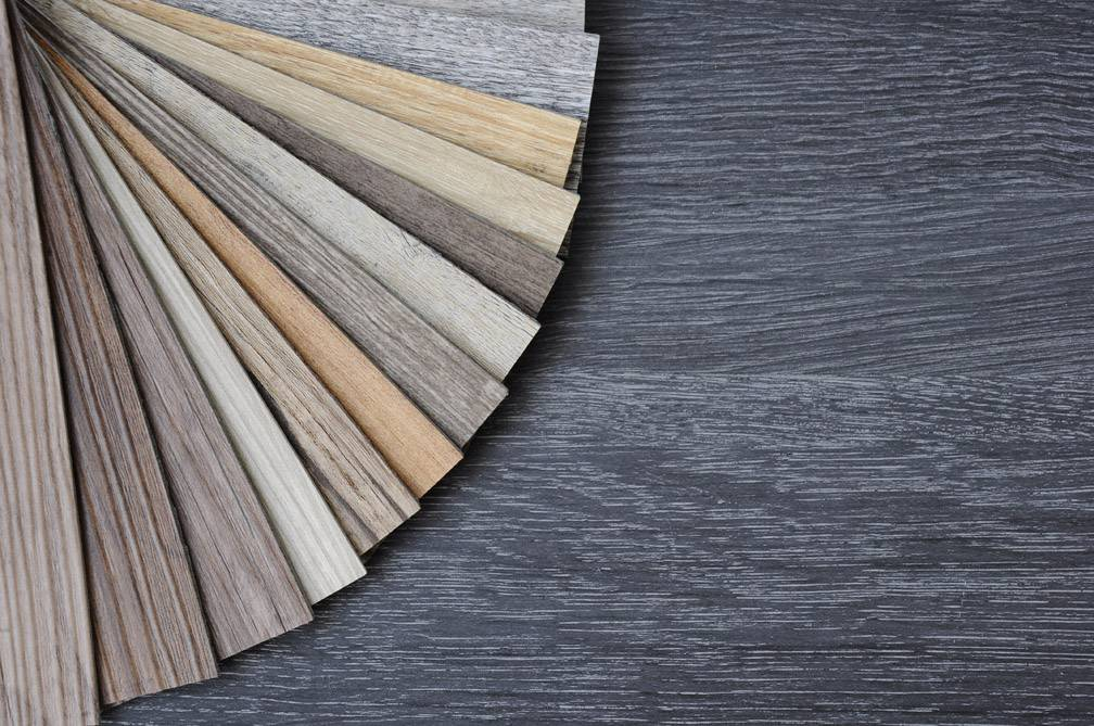 Selection of hard wooden floors